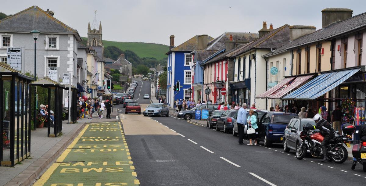 Local Area - Aberaeron West Wales